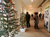 Blick in die Ausstellung zur Eröffnung am 29. November 2014